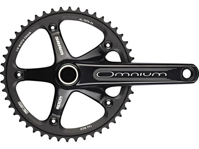 SRAM Omnium Track Kurbelgarnitur GXP 48 Zähne schwarz